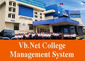 243 – Vb.Net College Management System Project