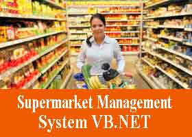 244 – Supermarket Management System VB.NET Project Code