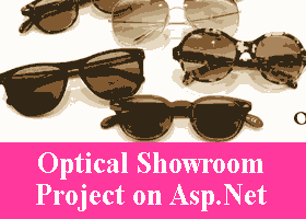 251 – Optical Showroom Project on Asp.Net VB