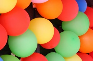 Hands-On Fundraising balloon celebration