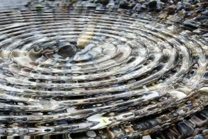 From a small ripple, big change can happen