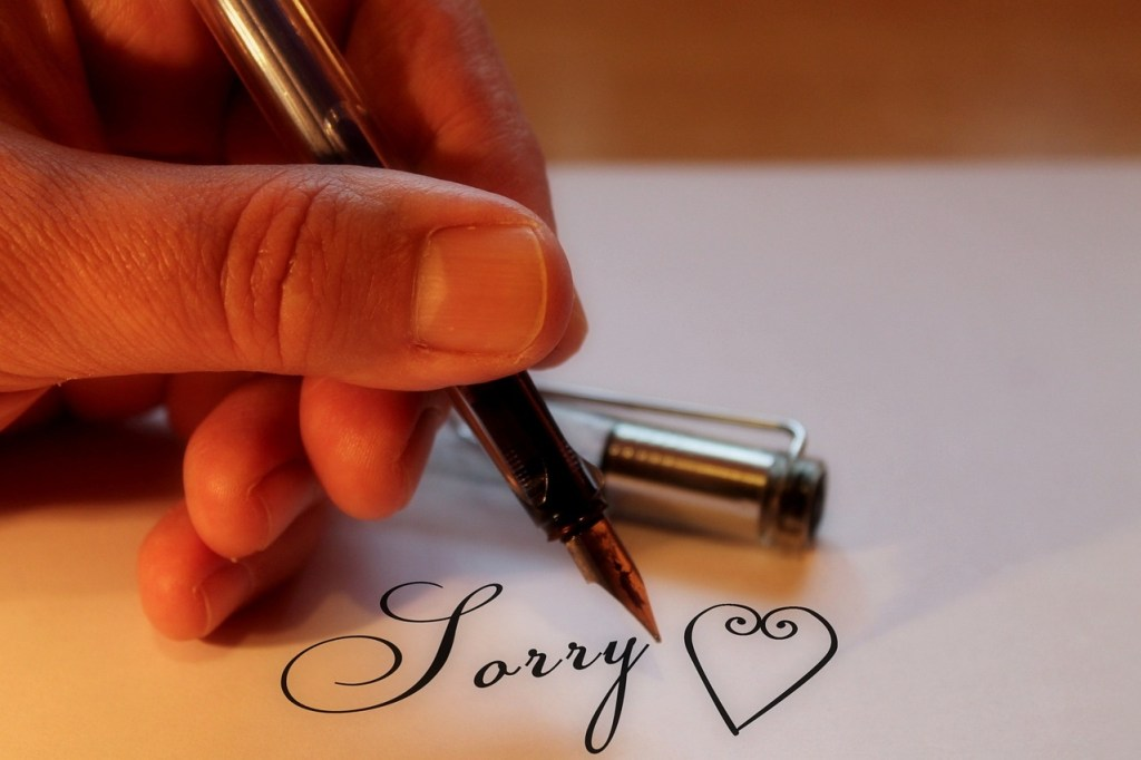 Sorry should matter