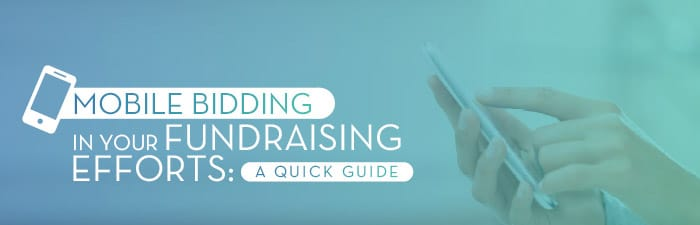 Graphic: Mobile bidding in your fundraising efforts: a quick guide