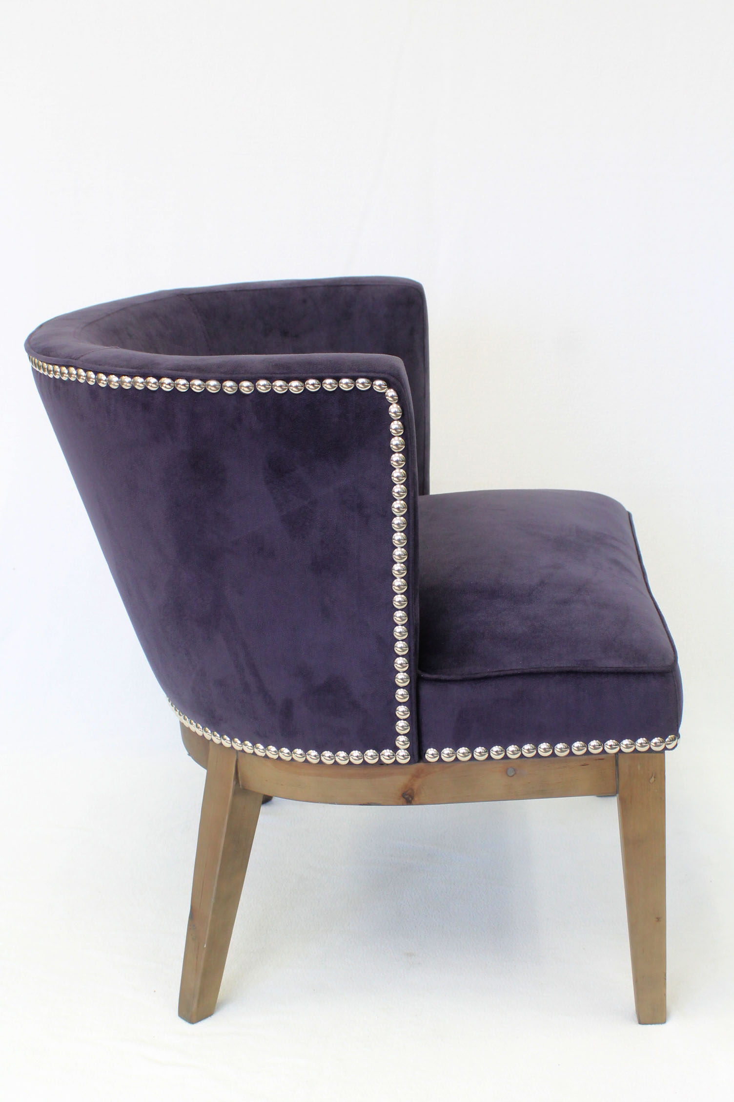 Purple Accent Chair Ava Driftwood Oversized Accent Chair