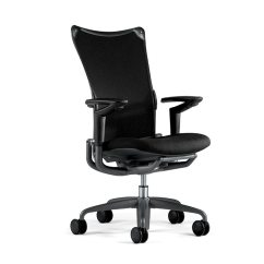 Allsteel Task Chair Levon Showood Accent Ergonomic Executive The 19