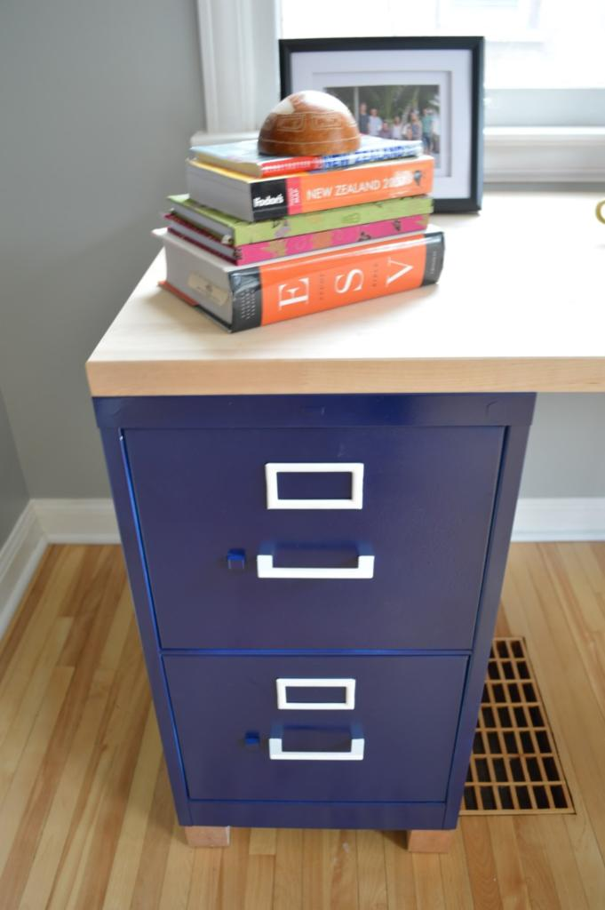DIY Friday Build Your Own File Cabinet Desk McAleers
