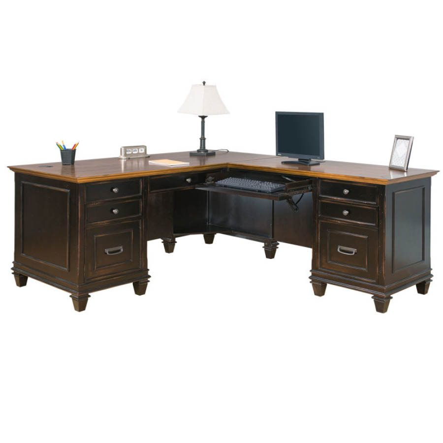 Hartford Right LShaped Desk  McAleers Office Furniture