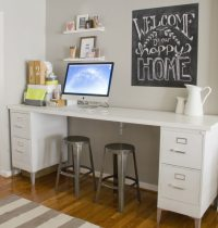 DIY Friday: Build Your Own File Cabinet Desk - McAleer's ...