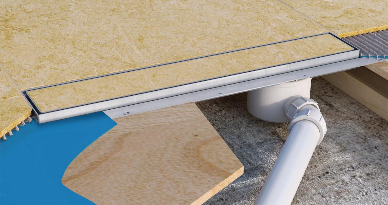 Standard Channel Drain  McAlpine Plumbing Products