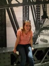 Steph on the Harbor Bridge