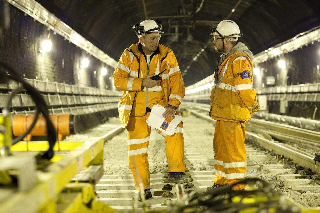 Babcock Rail Documentary Stills Renewing Rail Lines
