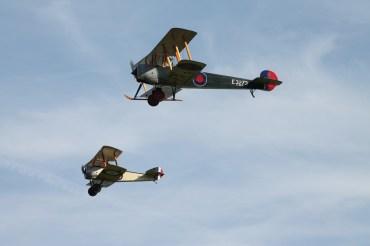 Avro 504K & Sopwith Triplane Replica