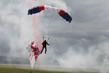 The Raiders Parachute Display Team