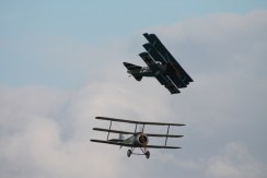 Fokker Dr.1 & Sopwith Triplane Replicas