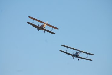 Stampe SV.4C & De Havilland DH.82A Tiger Moth II