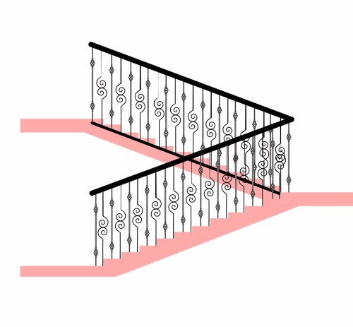 small resolution of stair railing 2