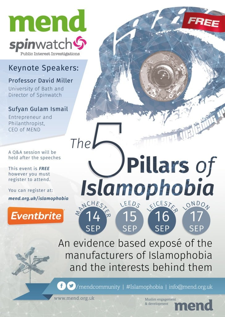 5 Pillars of Islamophobia - Mend