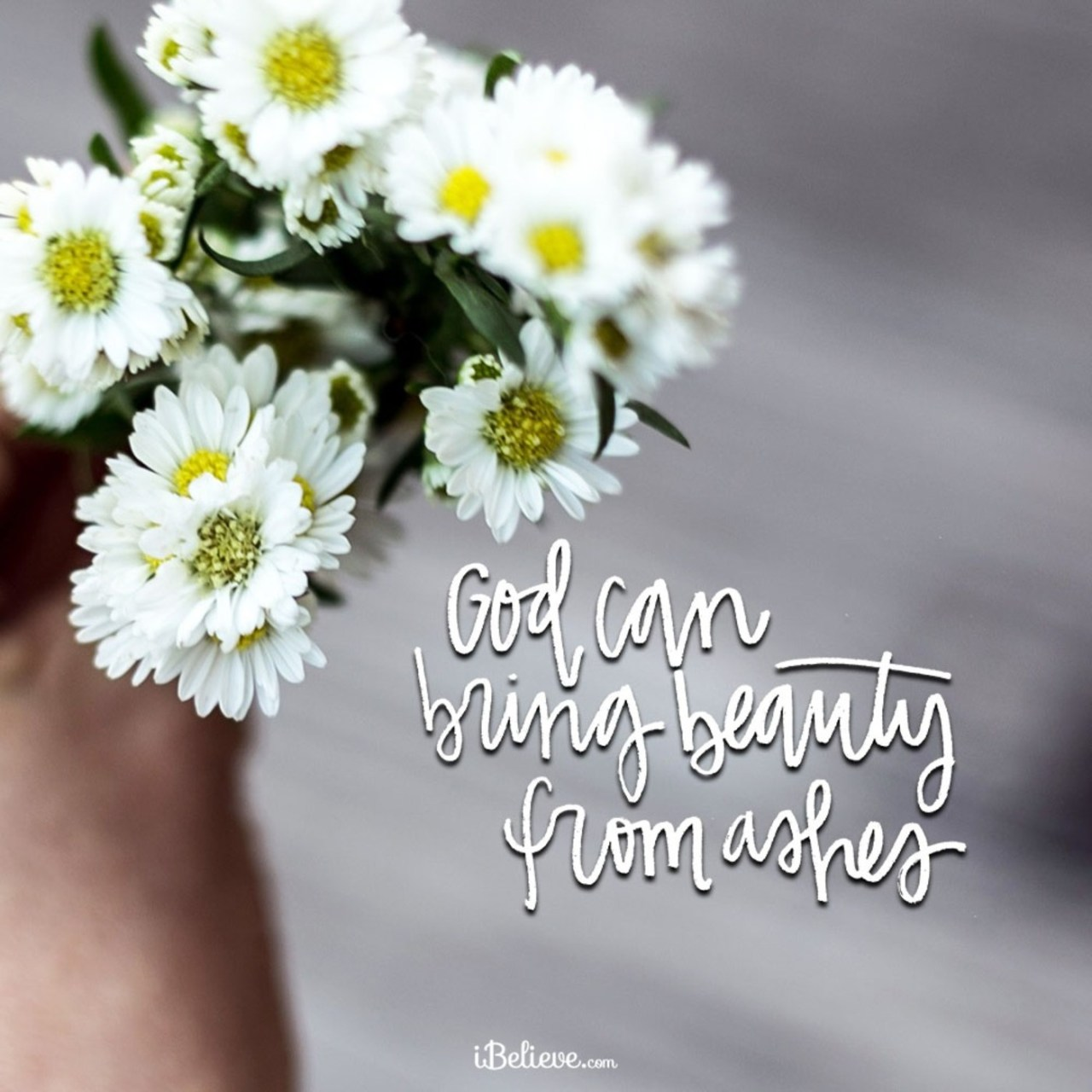 A Prayer for God to Bring Beauty From Ashes