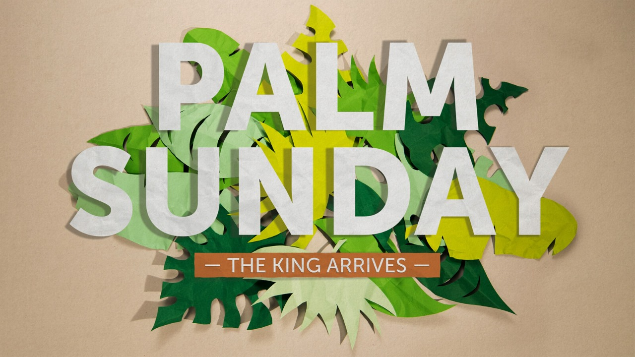 Palm Sunday – The King Arrives