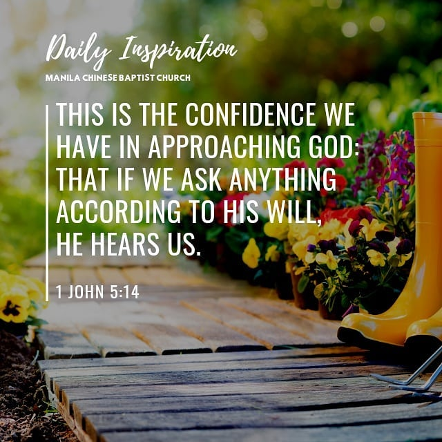 This is the confidence we have in approaching God: that if we ask anything accor…