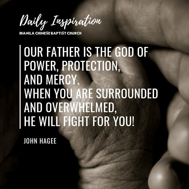 Our Father is the God of power, protection, and mercy. When you are surrounded a…