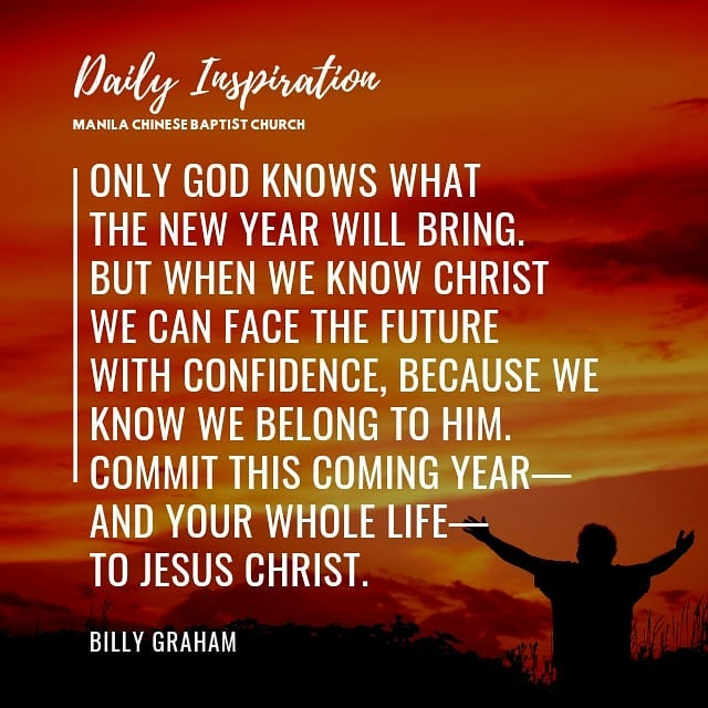 Only God knows what the new year will bring—but when we know Christ we can face …