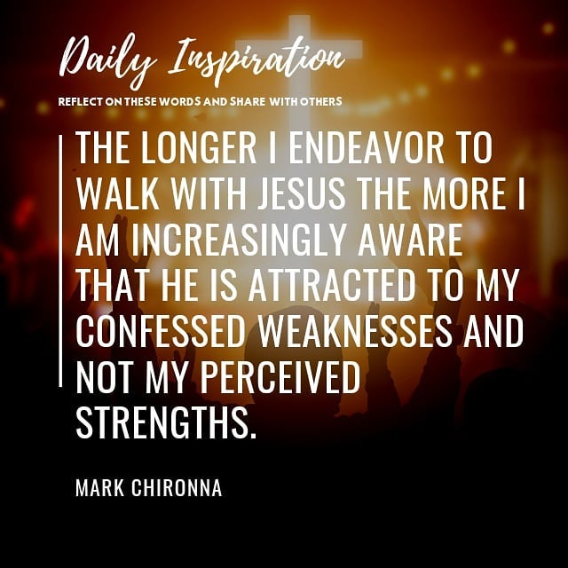 The longer I endeavor to walk with Jesus the more I am increasingly aware that h…