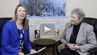 McBeath Financial Focus Series featuring Kathy Schniedwind.