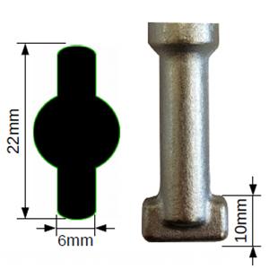 ManUp-Valve  22mm Flat Key