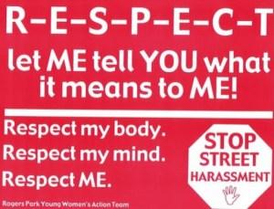 YWAT RESPECT poster