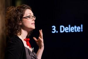 Jill Duffy at TED@250. April 24, 2013, New York, NY. Photo: Ryan Lash
