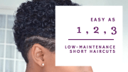3 -maintenance short haircuts
