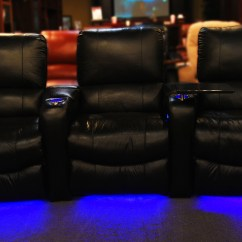 Movie Theatre Chairs For Home Office Chair And Table Adding Light Kits To Your Custom Theater Seating | Mccabe's Living