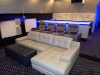 Palliser Media Sectional with 4 Palliser Home Theater ...
