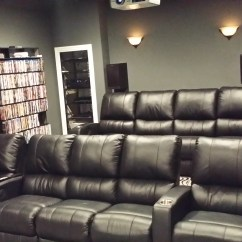 Home Theater Chair Leather Accent Modern Palliser Mccabe 39s And Living