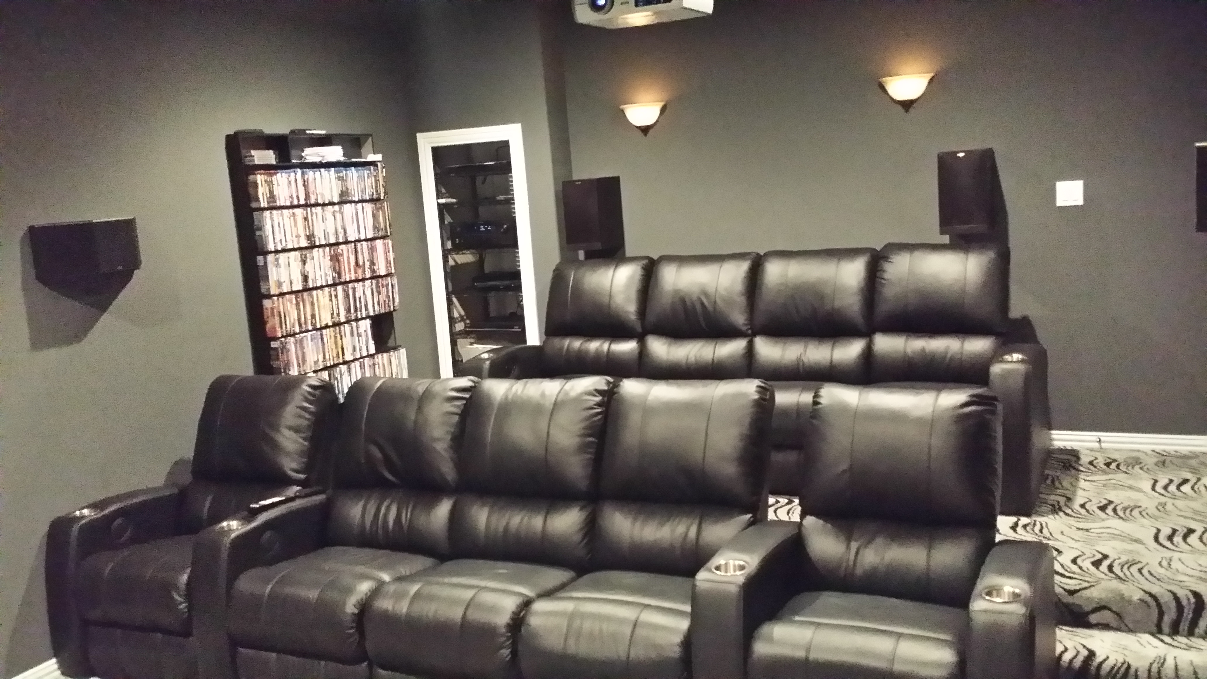 Movie Chairs For Home Theaters Palliser Mccabe 39s Theater And Living