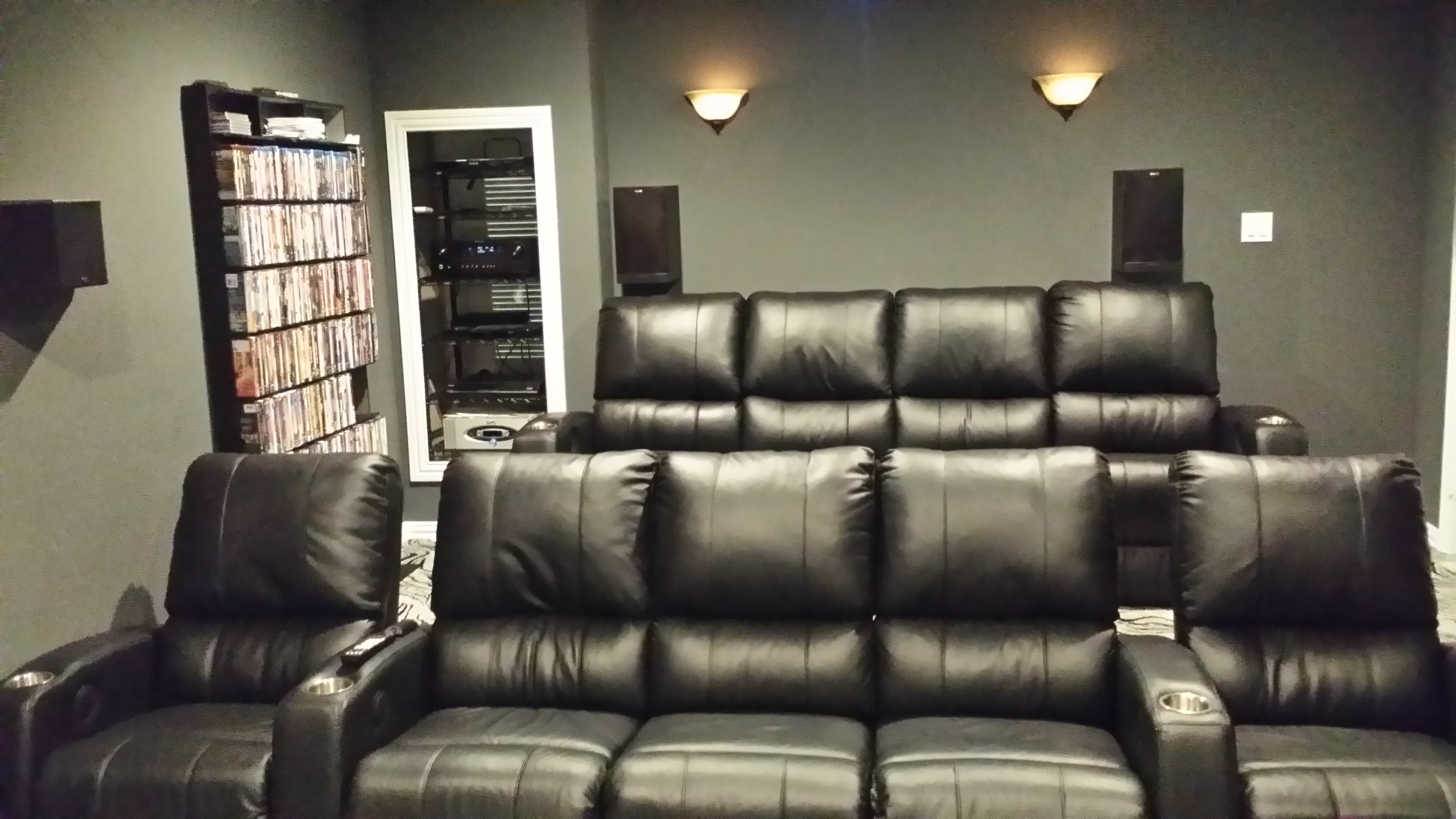 Movie Chairs For Home Theaters Palliser Pacifico Home Theatre Chairs