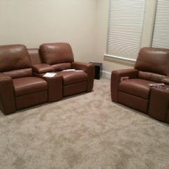 Home Theater Chair Covers Kmart Dining Room Cushions Sectional Palliser San Francisco Mccabe 39s
