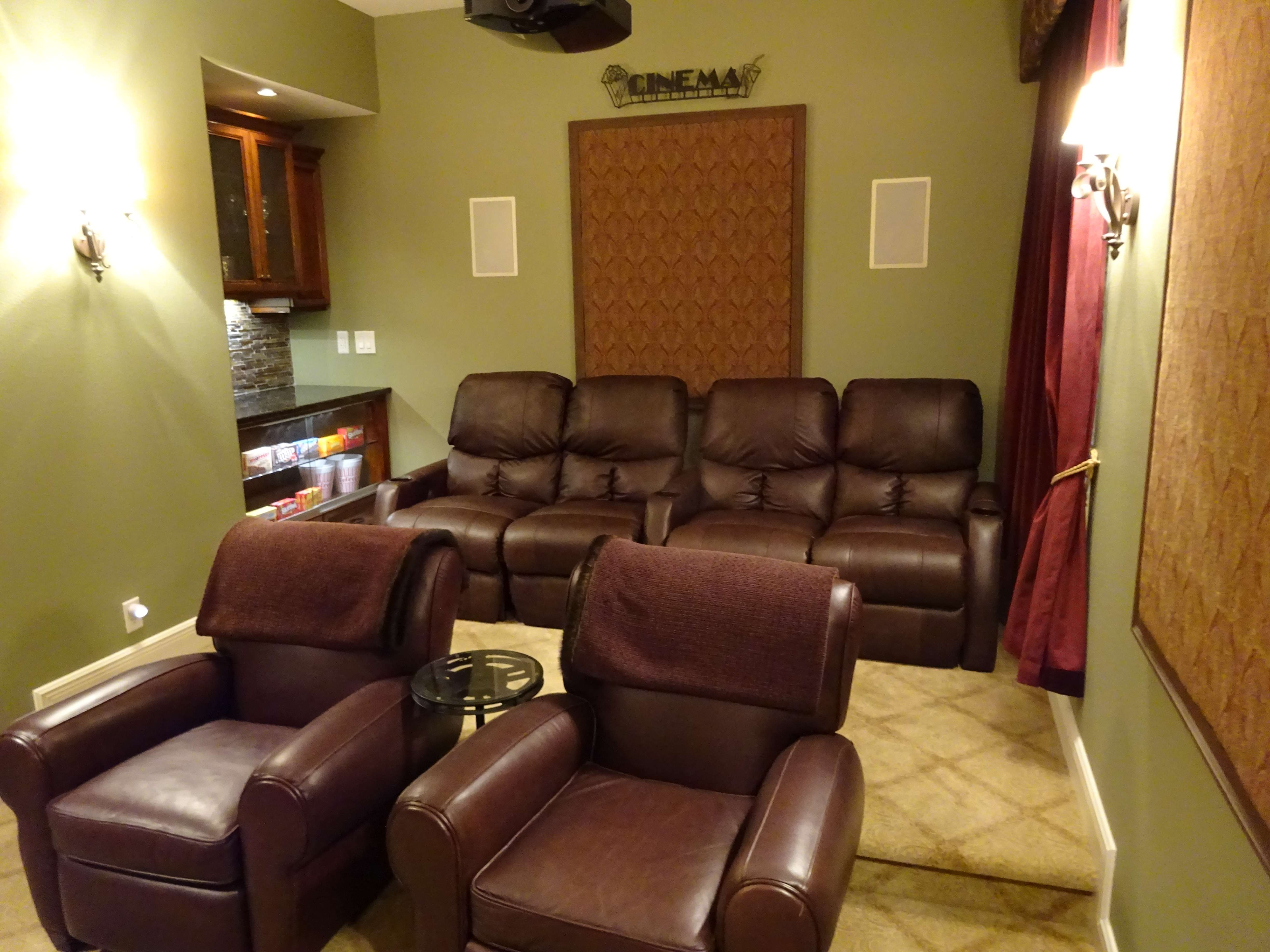 Movie Chairs For Home Theaters Mccabe 39s Theater And Living Frisco 39s 1 Home Theater