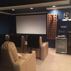 Sofa Theater Pasadena Gray Bed With Chaise Home Seat Risers Homemade Ftempo
