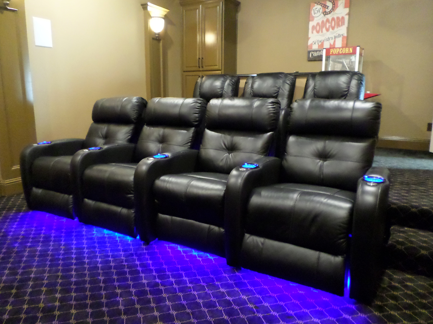 Movie Chairs For Home Theaters Home Theaters Mccabe 39s Theater And Living