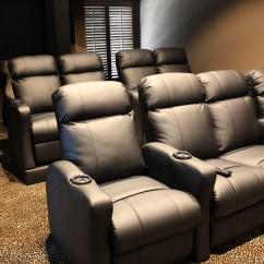 Home Theater Chair Covers Pool Float Chairs With Built In Riser And Led Kit Mccabe 39s