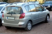Toyota Corolla Verso 2002 Mar to 2004 Roof Rack System