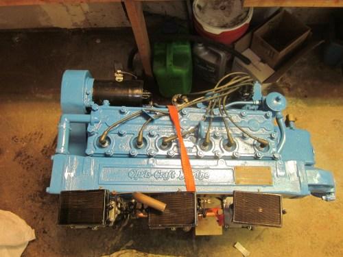 small resolution of chris craft hercules kbl 6 cyl tri carburetor 1956