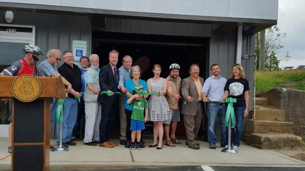 The Central Collective Ribbon Cutting