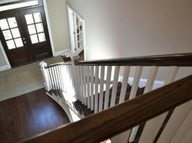 Knoxville Custom Home Stairway