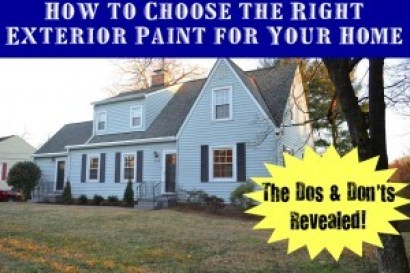 How to Choose the Right Exterior Paint for Your Home