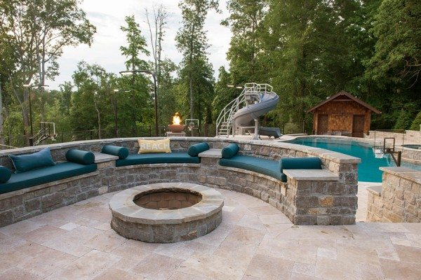 Joe Nathan Circular Fire Pit Seating