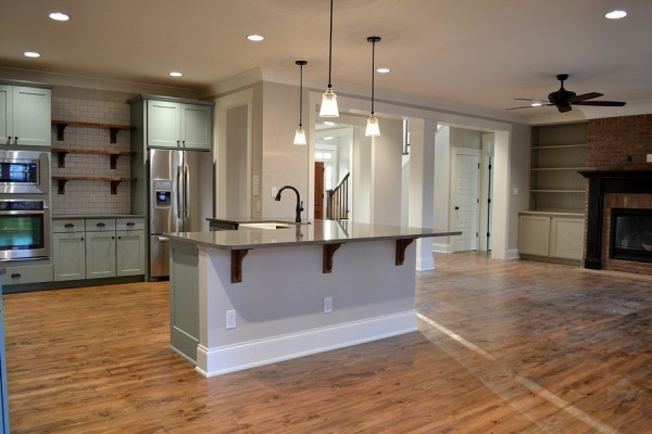 Kensington Custom Kitchen Open Floor Plan