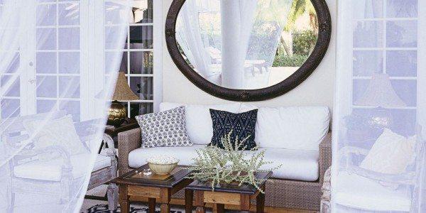 Outdoor Living Space Mirror